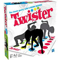 2 and More Moves Classic Twister To Rock the Spots Assemble and Board Game with Spinner and Cool Mat