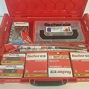 841-teilig Fischer 077507 Verankerungs-Set DuoPower Duotec