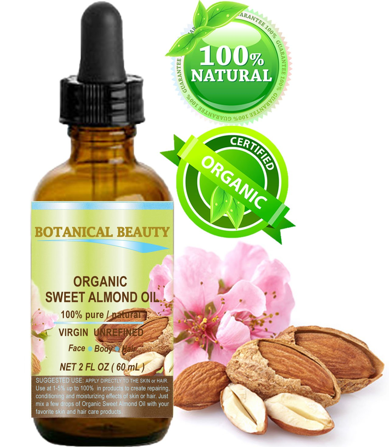 pure almond oil for face