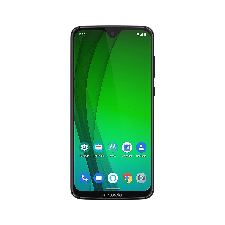 Moto G7 with Alexa Hands-Free – Unlocked – 64 GB – Ceramic Black (US  Warranty) – Verizon, AT&T, T–Mobile, Sprint, Boost, Cricket, & Metro