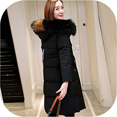 Ladies Parka With Large Fur Hood