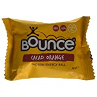 Bounce Cacao Orange Energy Balls 42 g (Pack of 12)