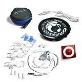 Swimbuds SPORT and Underwater Audio Waterproof iPod (Red) Bundle