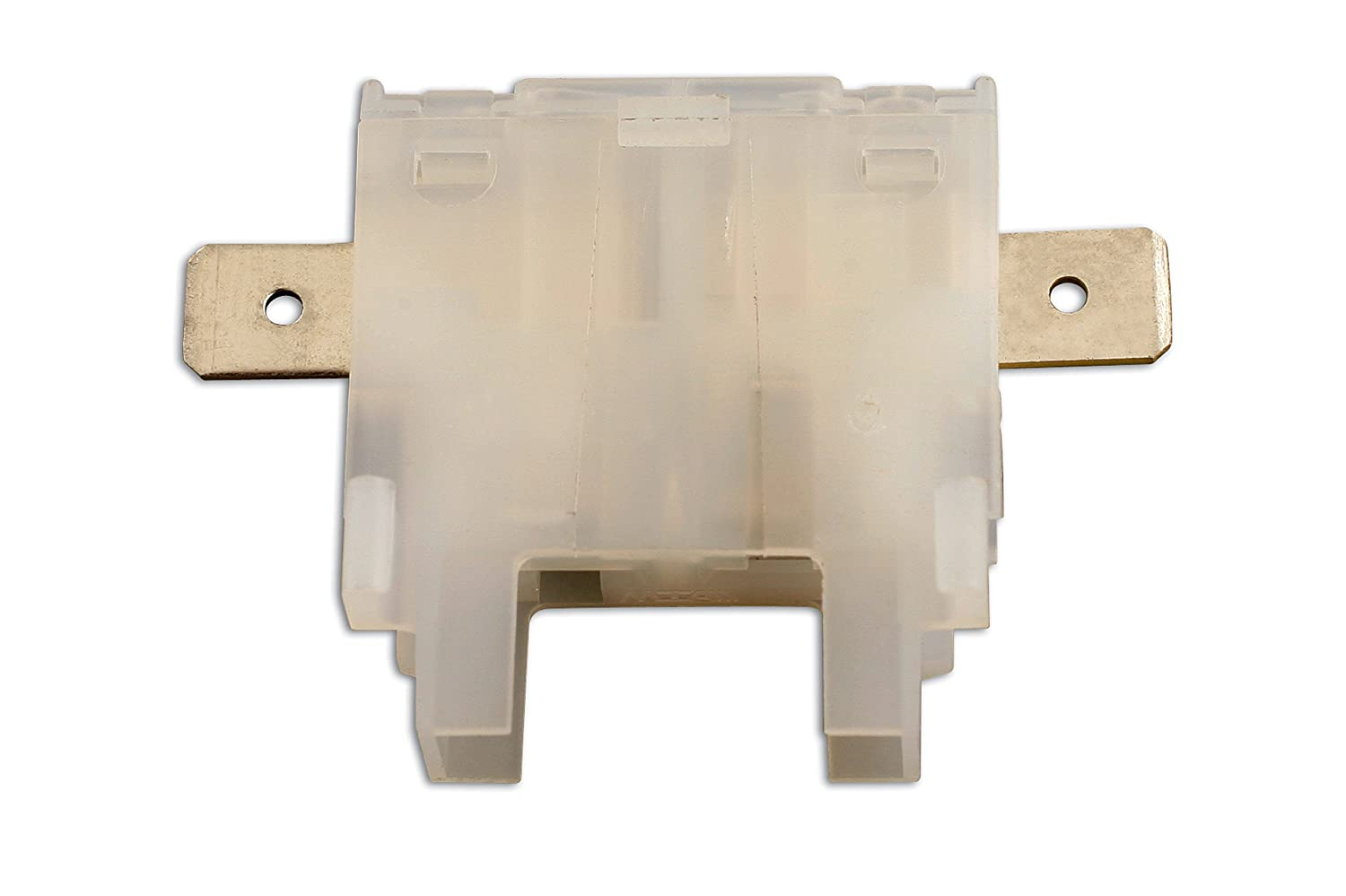 Connect porta fusibile in-line piatto 35175,  bianco, confezione da 10  bianco The Tool Connection Ltd.