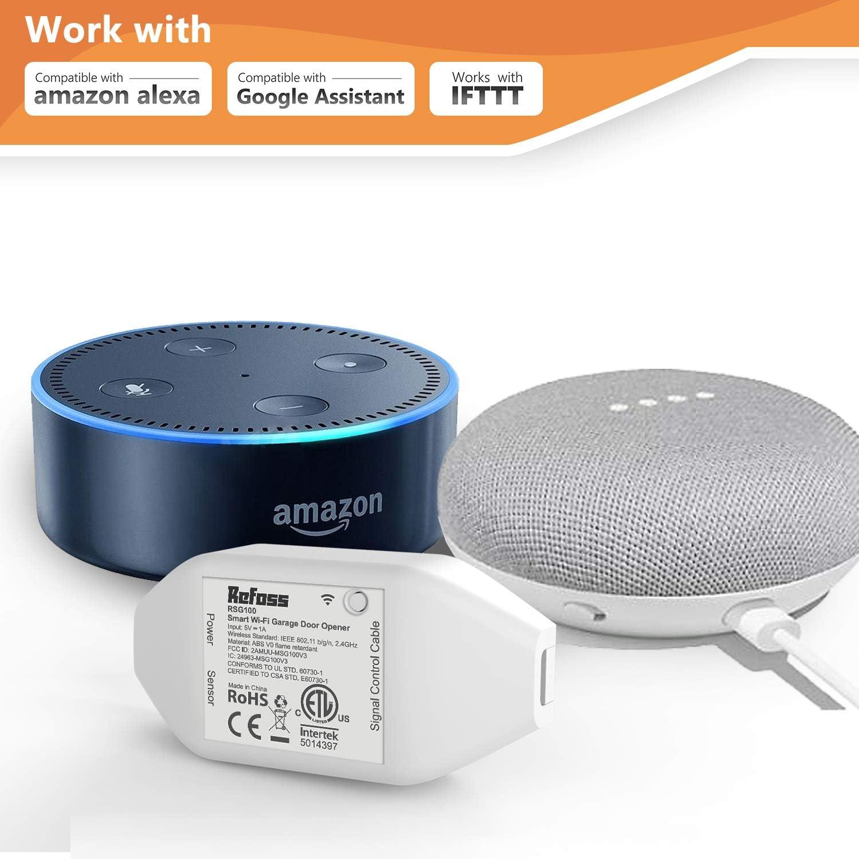 Refoss Garagentoröffner mit Alexa und Google Assistant