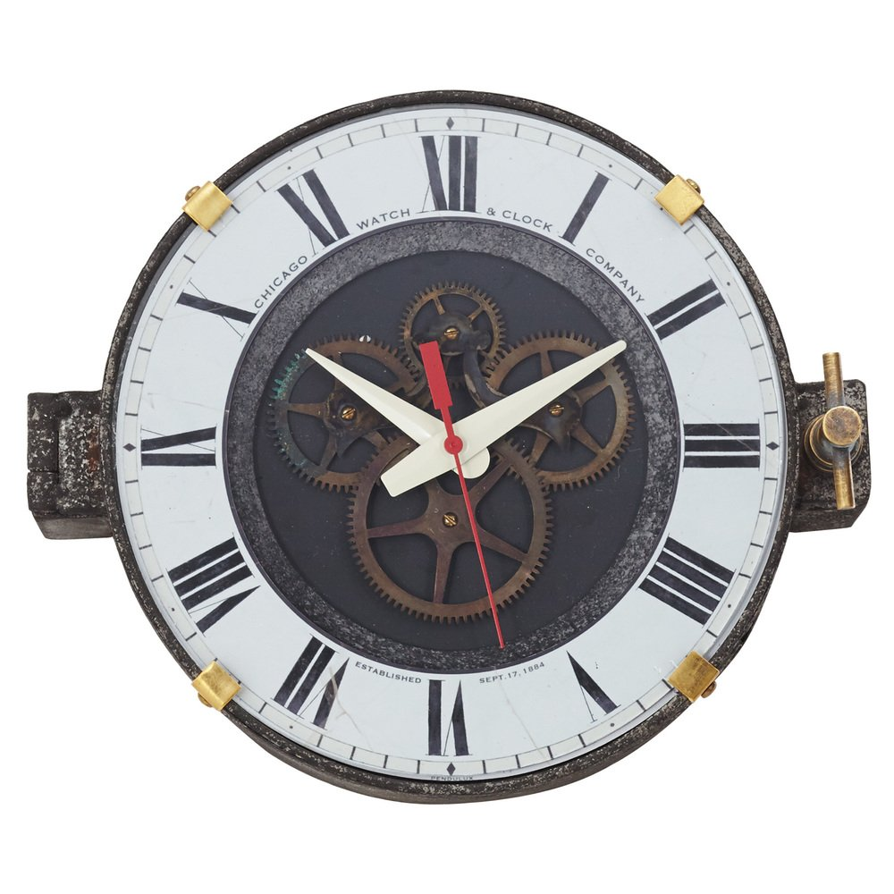 Pendulux Chicago Factory Wall Clock