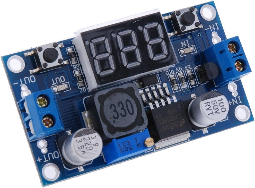 tinxi/® 5x LM2596S DC-DC abaisseur r/égulateur module dalimentation convertisseur de tension convertisseur r/égulateur de commutation