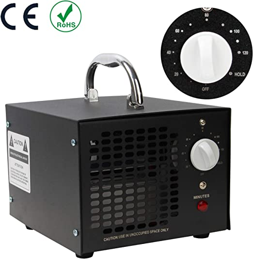 Hengda 10000mg por hora Generador de ozono Purificador de aire ...