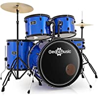 Bateria BDK-1 de Tamano Completo para Principiantes de Gear4music Azul