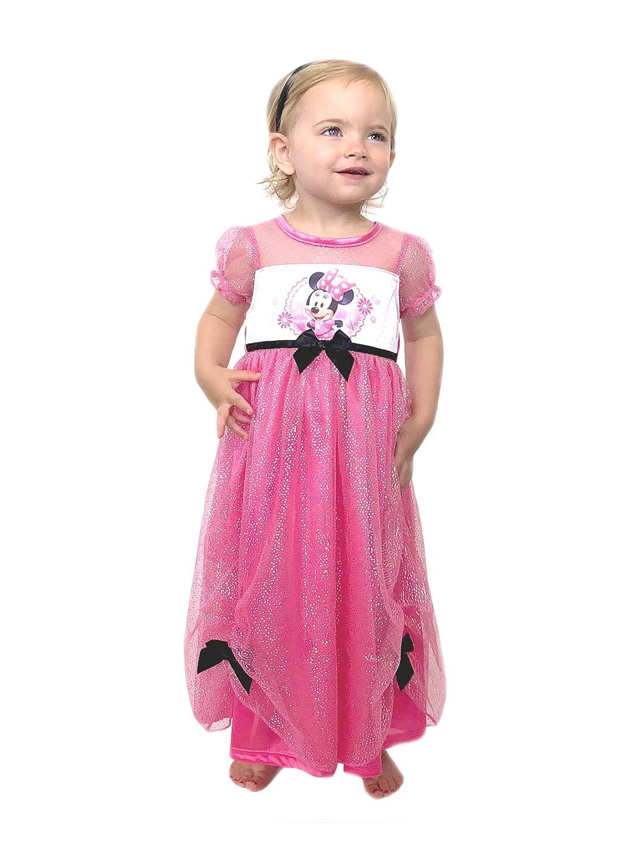 Disney Little Girls' Minnie Mouse Costume Sleep Gown K157411MM