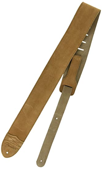 Fender Guitar Strap >> Fender 2 1 2 Inch F Suede Electric Guitar Strap Tan
