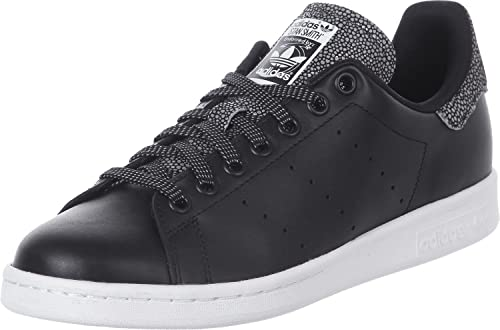 sports shoes 0f7c3 e4ba8 adidas Stan Smith W, Sneaker Donna, Multicolore  Nero Bianco Argento, 43  1 3 EU  Amazon.it  Scarpe e borse