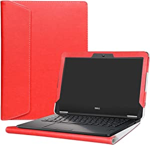"Alapmk Protective Case Cover for 12.5"" Dell Latitude 12 e5270 e7270 Series Laptop(Warning:Not fit Latitude 12 5280 5290 / Latitude 12 7290 7280 7285),Red"