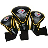 NFL Pittsburgh Steelers 3 Pack Contour Head Covers