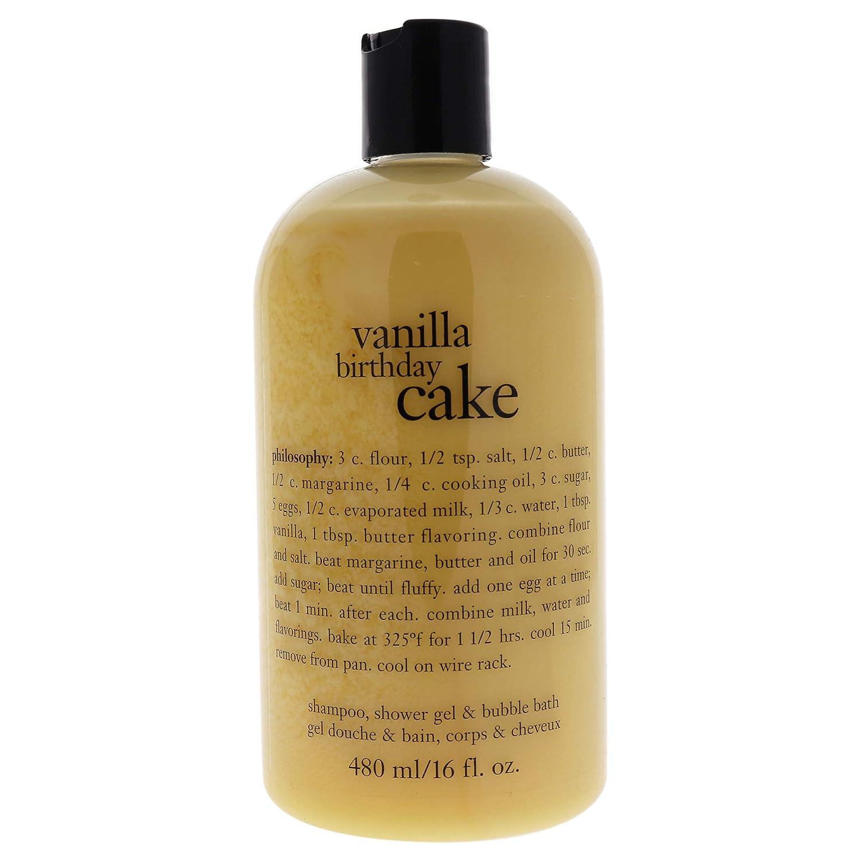 Peachy Amazon Com Philosophy Vanilla Birthday Cake Shampoo Shower Gel Birthday Cards Printable Giouspongecafe Filternl