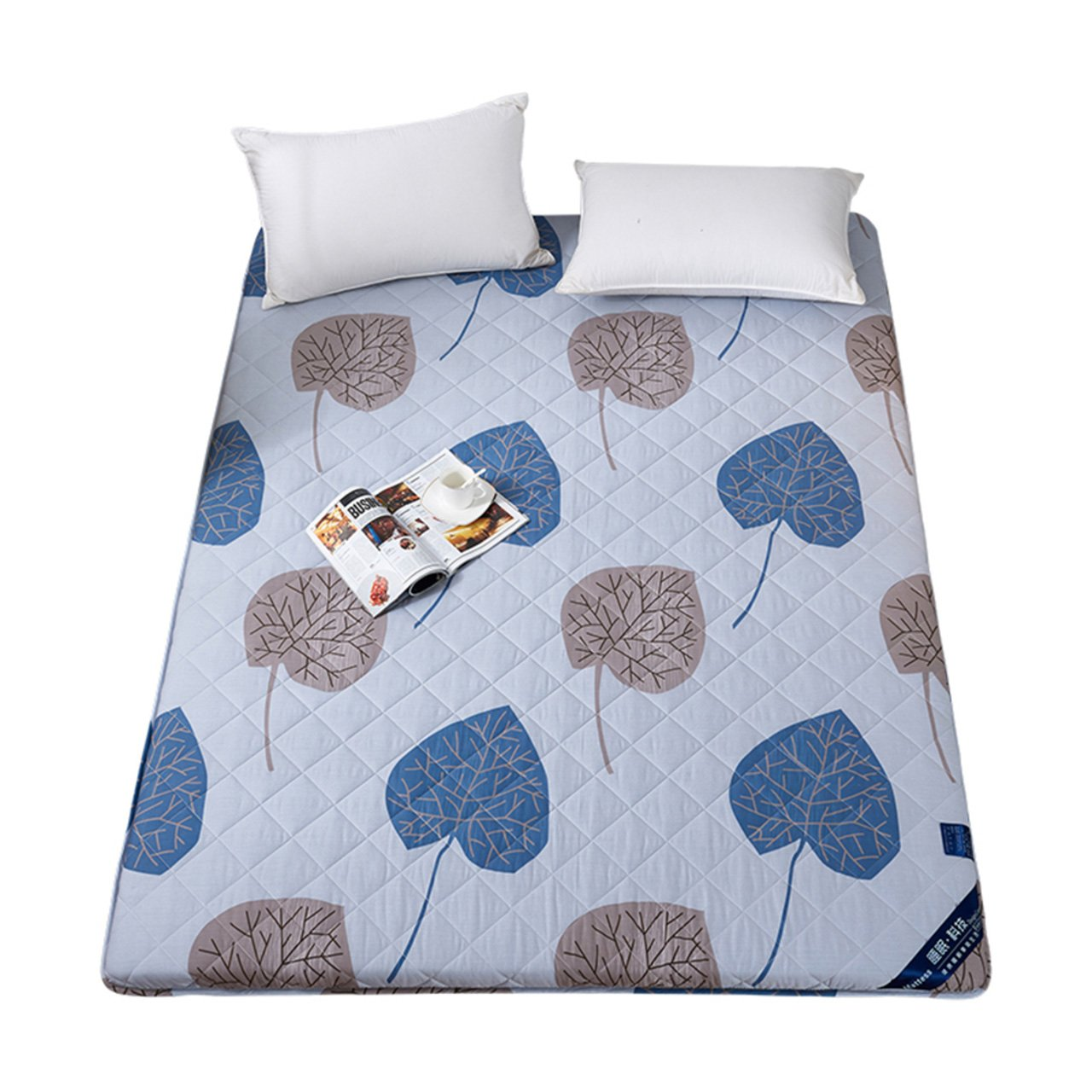 LWXTY - Colchón Antideslizante de algodón, colchoneta de futón ...