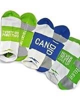 Gone For a Run Inspirational Athletic Running Socks   Women's Woven Low Cut   Marathoner Sock Set