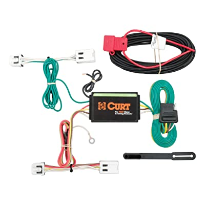 CURT 56227 Vehicle-Side Custom 4-Pin Trailer Wiring Harness for Select Nissan Leaf: Automotive