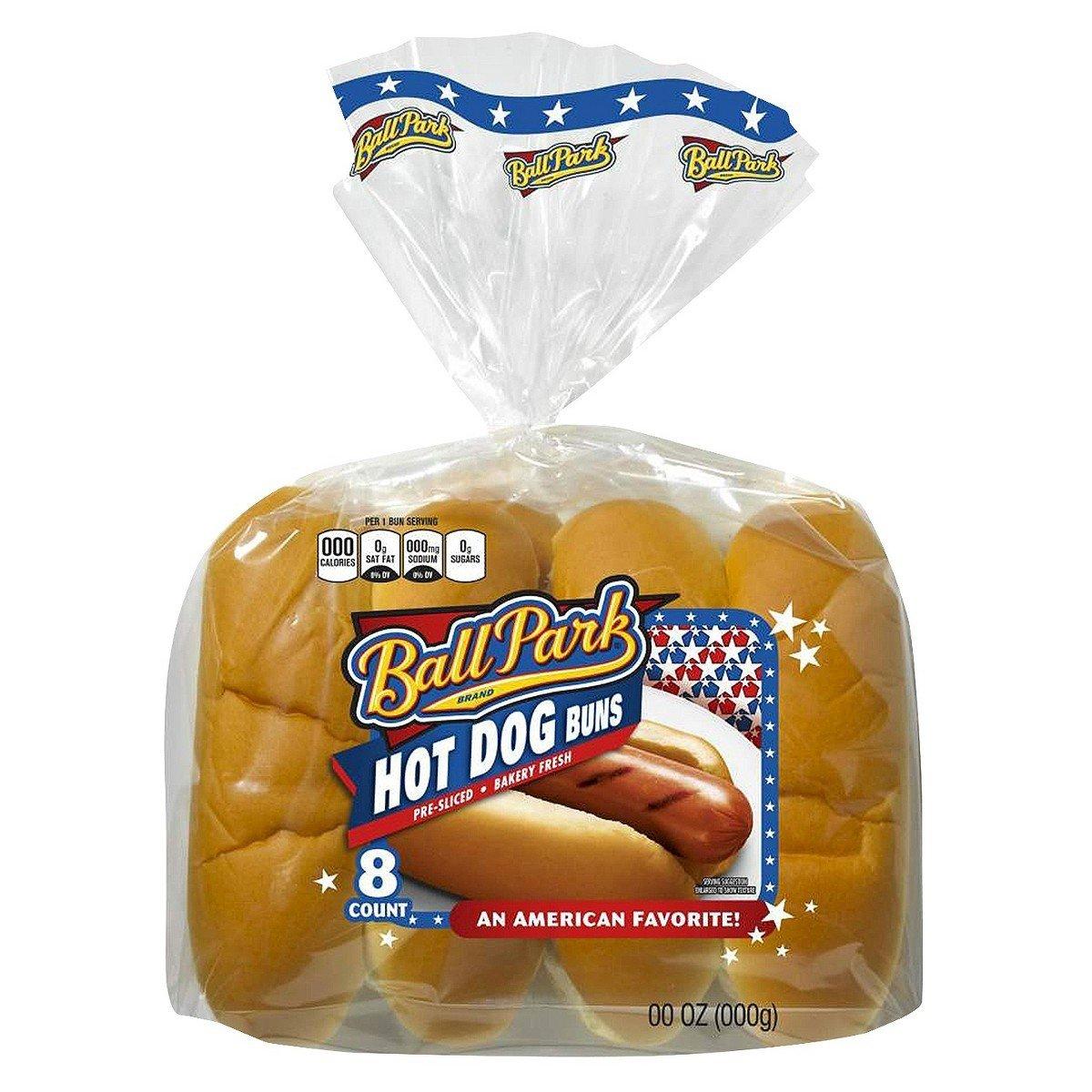 Ball Park Hot Dog Buns 8 Ct Amazon Com Grocery Gourmet Food