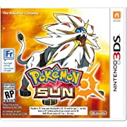 Released today! Pokémon Sun and Pokémon Moon for Nintendo 3DS $39.99 @ Amazon.ca