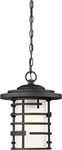 Nuvo 60 6405 One Light, Hanging Lantern, Black