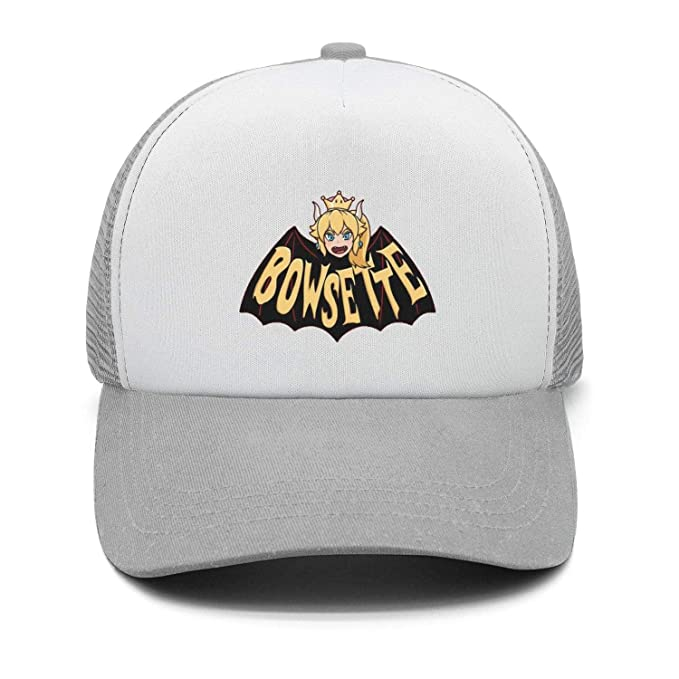 30b458a99 hoppobabo Bowsette-5-Cute Plain Sports Baseball Hats Caps Snapback for Men  Women