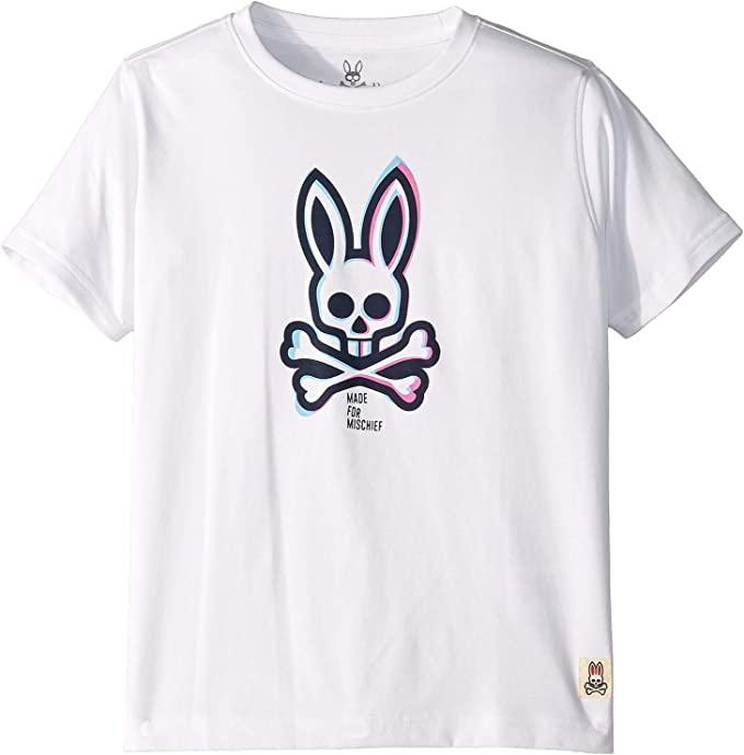 Toddler//Little Kids//Big Kids Psycho Bunny Kids Mens Crew Neck Tee