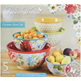 The Pioneer Woman Vintage Collection 5 Piece Ceramic Bowl Set