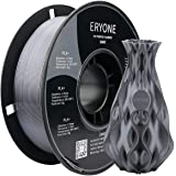 ERYONE PLA+ 3D Printer Filament, Dimensional Accuracy +/- 0.05 mm 1kg (2.2LBS)/Spool, 1.75mm, Grey