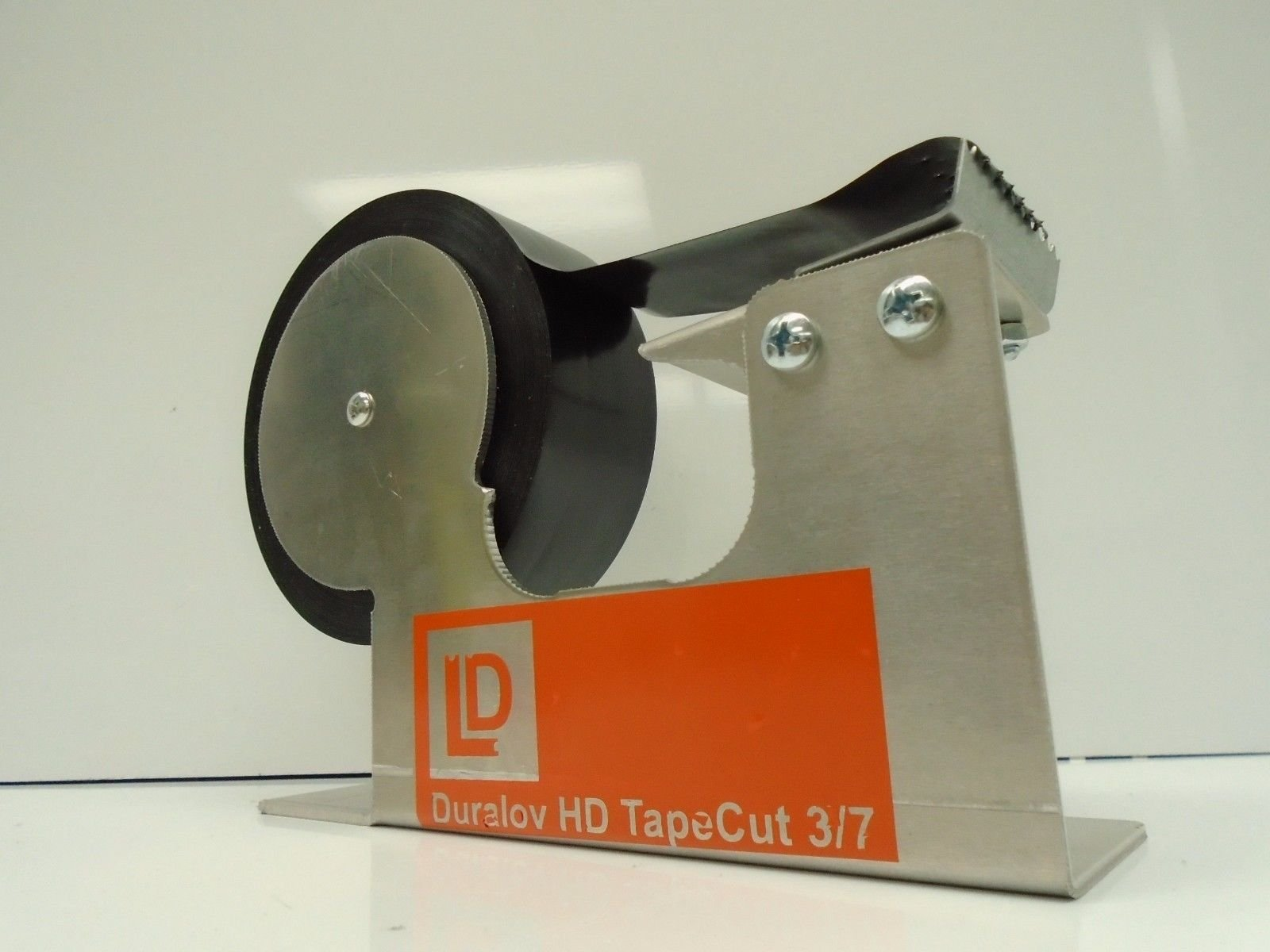 Packing Tape heavy duty industrial grade dispenser for desktop installation clamp 1 to 3 inches width