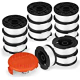 """Eventronic Line String Trimmer Replacement Spool, 30ft 0.065"""" Autofeed Replacement Spools for Black+Decker String…"""