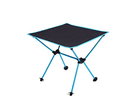 MUMAI Portable Lightweight Folding Table With Carry Bag Waterproof Oxford  Cloth Aluminum Alloy Outdoor Camping BBQ