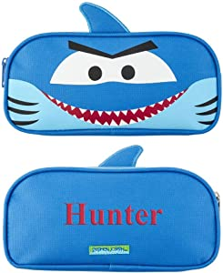 GiftsForYouNow Shark Personalized Pencil Pouch