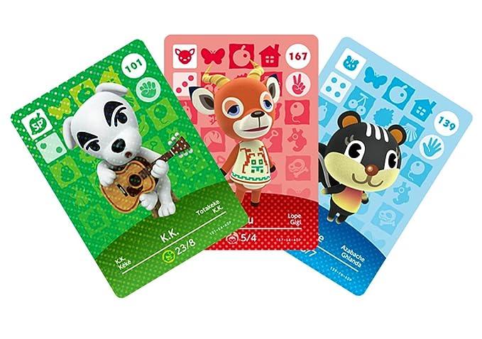 Nintendo - Pack 3 Tarjetas Amiibo Animal Crossing HHD ...