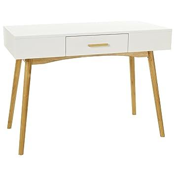 Bureau Retro Design.Lomos No 11 Scandinavian Retro Design Bureau Made Of Wood In White