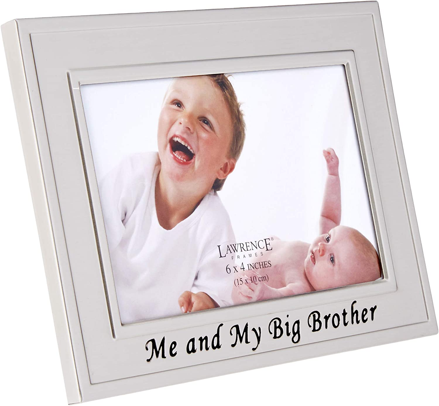 CR Gibson Super Big Brother Of...Blue//white 2 Pics Big Brother Picture Frame