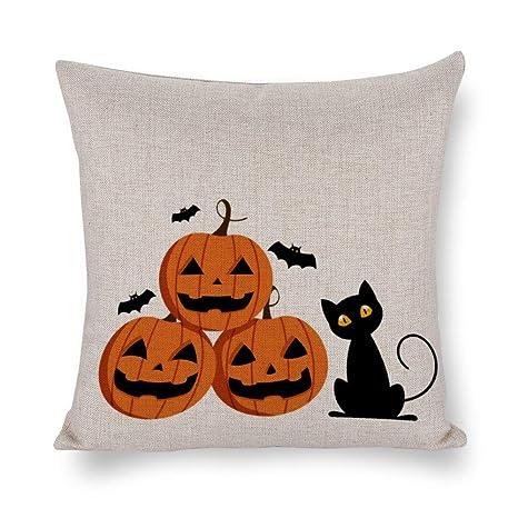 wendana Halloween Fundas de Almohada 16 x 16, Halloween ...