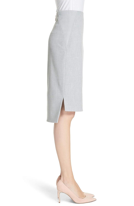 d55c93fc28b1c Amazon.com  Ted Baker London Grey Ted Working Title Daizis Step Hem Pencil  Skirt  Clothing
