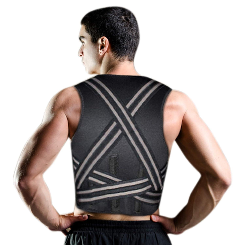 COMPRESSX Corrector de Postura Espalda Recta con Tirantes - Lumbar Hombro Soporte para Mujeres y Hombres - Tirantes Elásticos para Comodidad: Amazon.es: ...