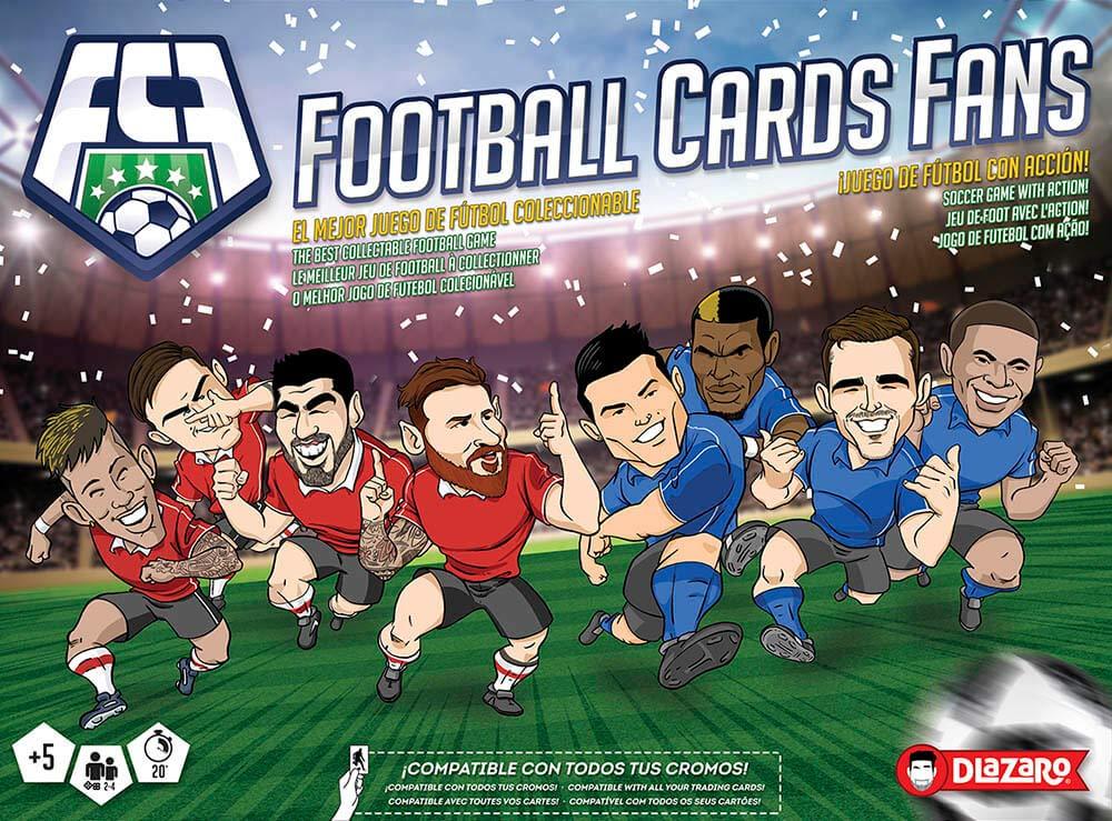 DLAZARO Juego de Mesa, Football Cards Fans Juego de Fútbol ...