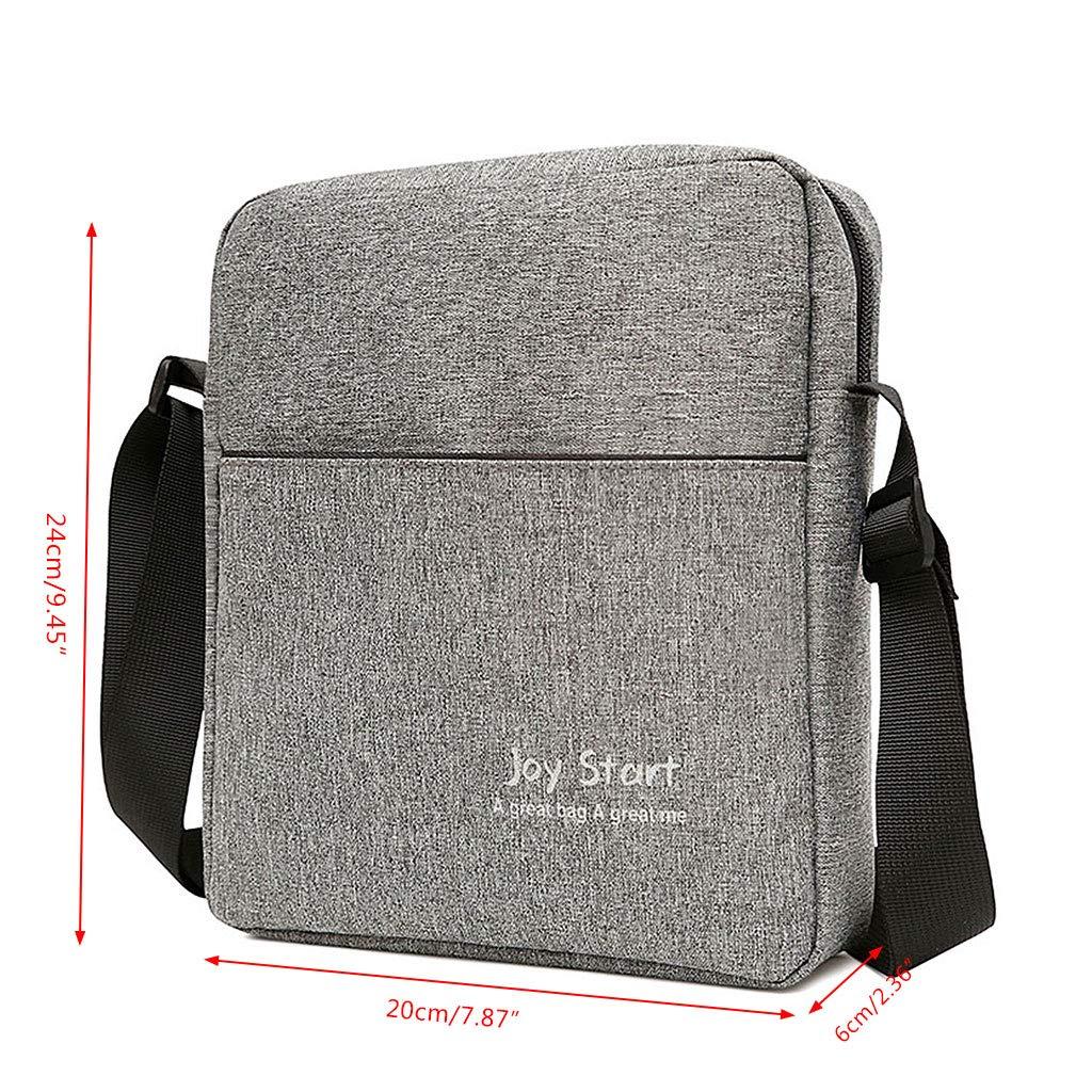 dd7a802a9468 Amazon.com: Lamdoo Men's Nylon Shoulder Bag Handbag Outdoor Travel ...