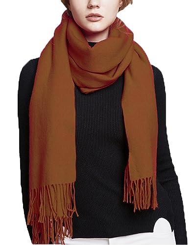 Wander Agio - Bufanda - camisa - para mujer Marrón marrón única