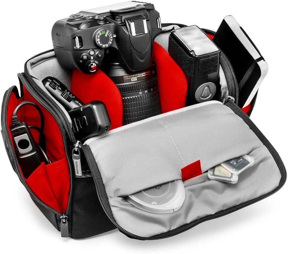 Manfrotto Active Shoulder - Bolsa de hombro (para cámara DSLR con ...
