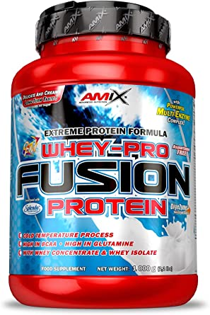 AMIX Whey Pure Fusion - 1 Kg Cream cookies