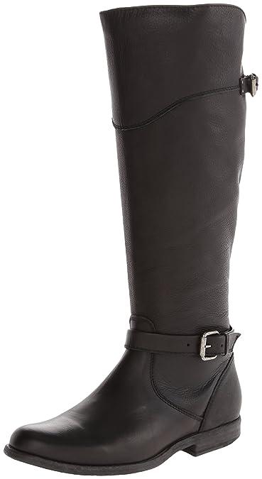 FRYE Women's Phillip Riding Boot,Black Soft Vintage Leather,6 ...