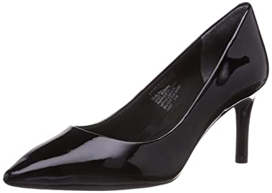 add02b057908 Rockport Total Motion 75Mmpth Womens Court Shoes Black (Black Patent)