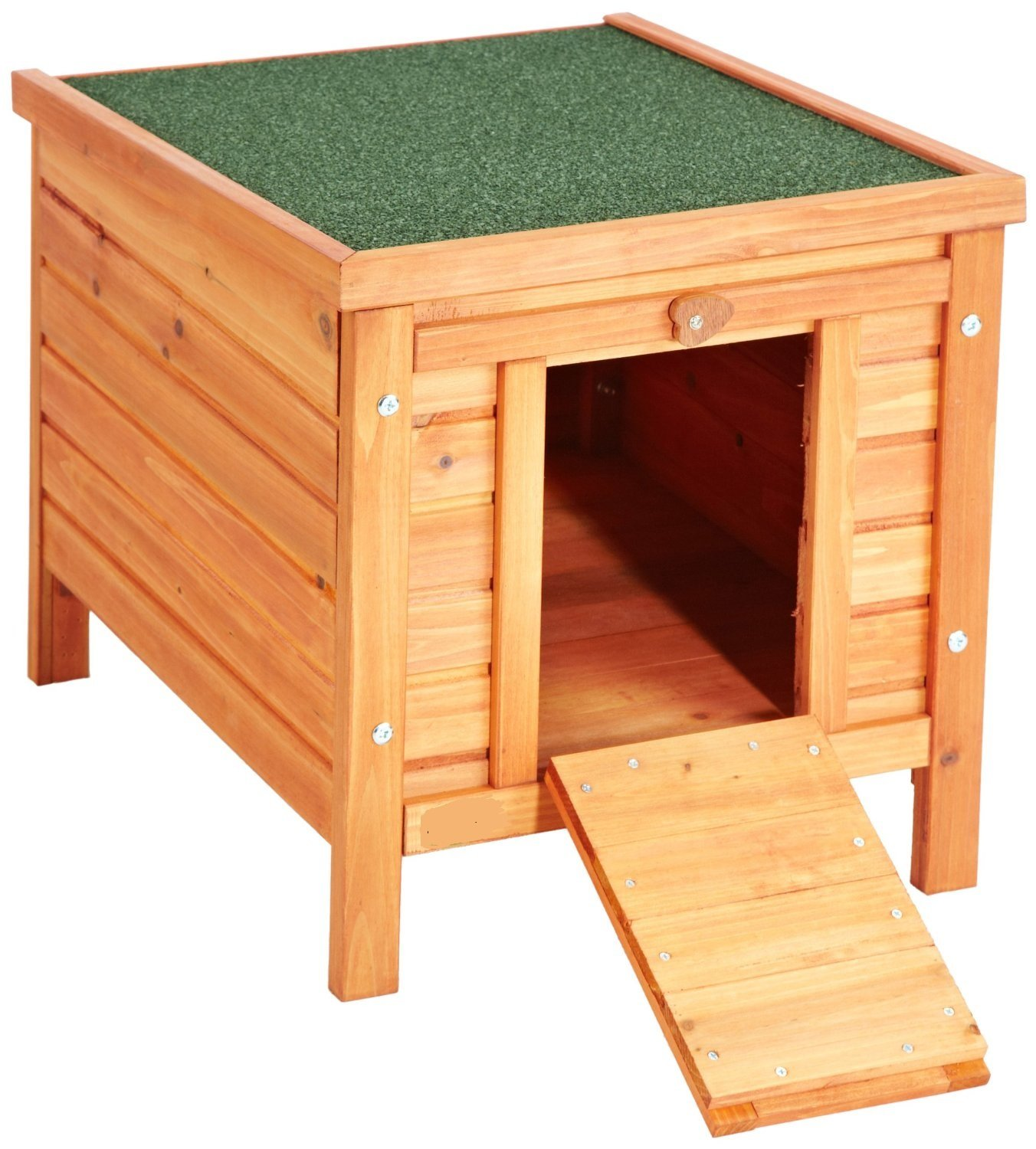 VivaPet Cat Puppy Rabbit Guinea Pig Wooden Hide House 50 x 42