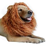 Lion Mane for Dog-Dog Costume DIBBATU Lion Wig for Large or Medium Dogs Halloween Christmas Gift Fancy Hair
