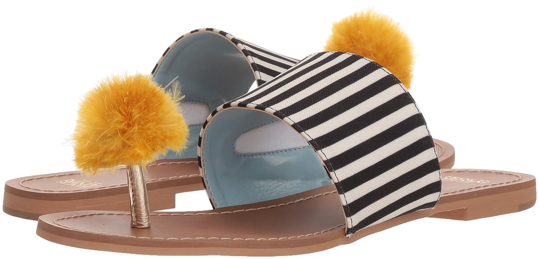 Frances Valentine Women's Clementine Slide Sandal B074P7QH6C 8 B(M) US|Black/Yellow