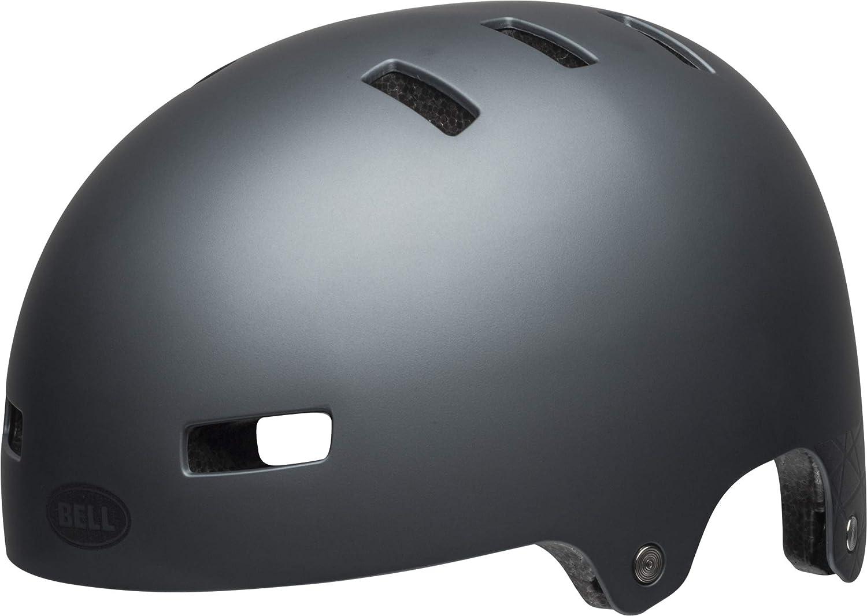 BELL Local BMX Dirt Fahrrad Helm grau 2019